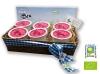 Cistella de iogurts ecològics de maduixa